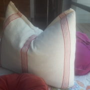 Handwoven Tunisian Cushion